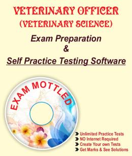 VETERINARY OFFICER -Veterinary Science