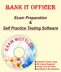 Bank IT Officer Exam