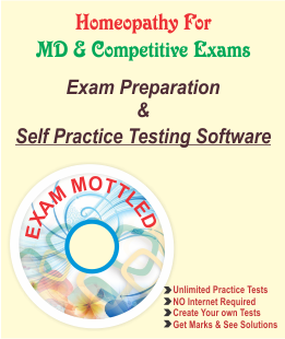 Homeopathy MD & Competitive Exams